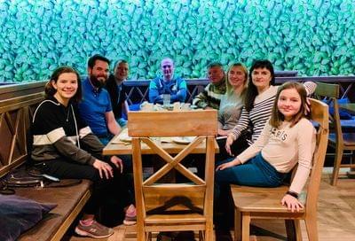 Friends in Lutsk