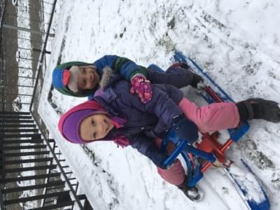 Time for sledding